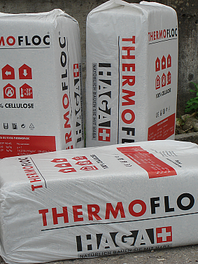 Thermofloc im Bag